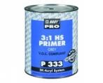HB BODY PRIMER P333 HS 3:1 čierny 3L